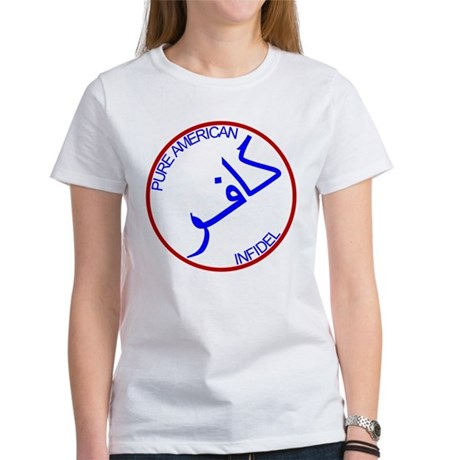 Red White Blue Pure Infidel Women's T-Shirt