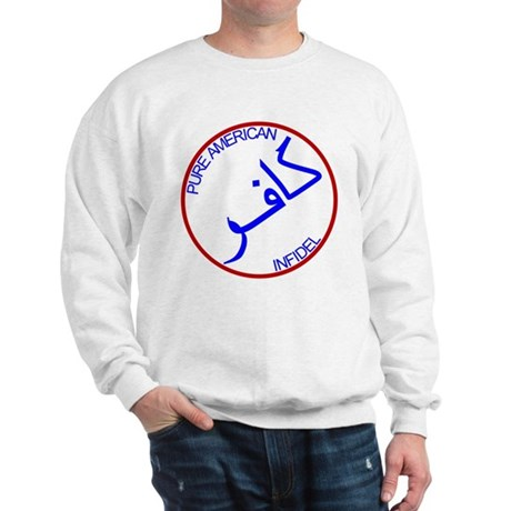 Red White Blue Pure Infidel Sweatshirt