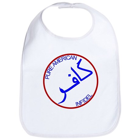 Red White Blue Pure Infidel Bib