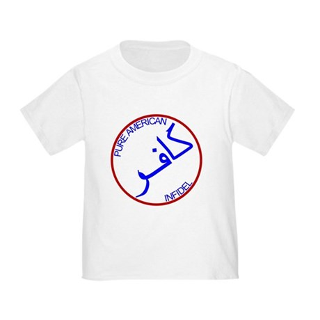 Red White Blue Pure Infidel Toddler T-Shirt
