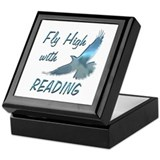 Fly with Reading Keepsake Box