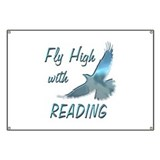 Fly with Reading Banner