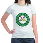For the Irish Mason/OES Membe Jr. Ringer T-Shirt