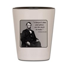 Lincoln Shot Glass