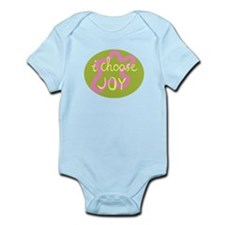 I Choose Joy - Pink Infant Bodysuit