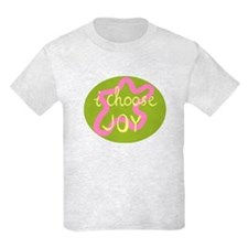 I Choose Joy - Pink T-Shirt