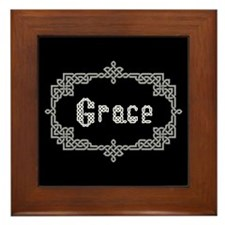 """Celtic Knots Grace"" Framed Tile"