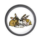 Cute Bulldog Wall Clock
