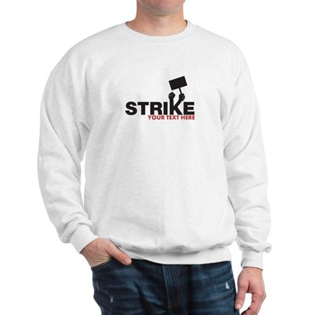 Customizable Strike Design Sweatshirt