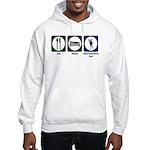 Eat - Sleep - Ren Fair Hooded Sweatshirt