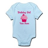 Birthday girl personalized  Baby Onesie