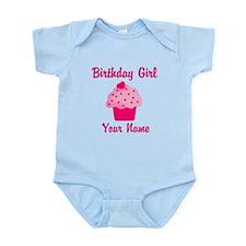 Birthday girl personalized Infant Bodysuit