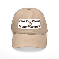 Pray For Peace Worldwide Baseball Cap