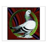 Berliner Circle Pigeon Small Poster