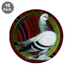 "Berliner Circle Pigeon 3.5"" Button (10 pack)"