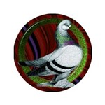 "Berliner Circle Pigeon 3.5"" Button"