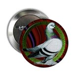 "Berliner Circle Pigeon 2.25"" Button (100 pack"