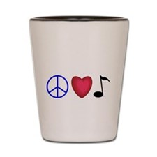 Music Lovers Shot Glass