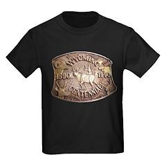 WY Centennial Kids Dark T-Shirt