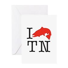 I Fish TN Greeting Card