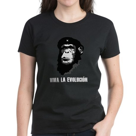Viva La Evolution Women's Dark T-Shirt