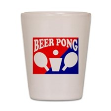 BEER PONG MUG TEE SHIRT T-SHI Shot Glass