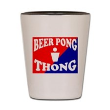 BEER PONG SEXY THONG FOR HOT Shot Glass