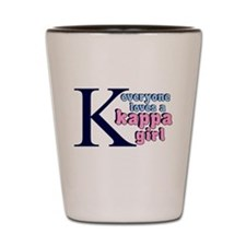 KAPPA SORORITY SHIRT TEE TSHI Shot Glass