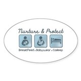 Babywearing Decal