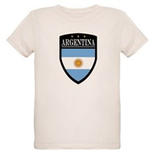 Argentina Flag Patch T-Shirt