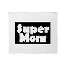 Super Mom Throw Blanket