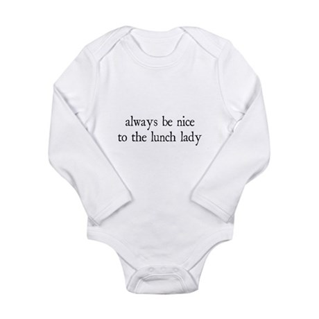 Lunch Lady Long Sleeve Infant Bodysuit