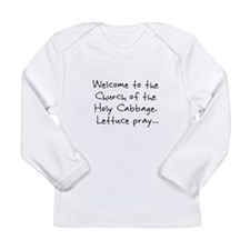 Lettuce Pray Long Sleeve Infant T-Shirt