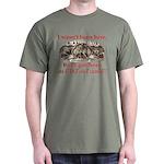 Not Born Here Dark T-Shirt