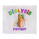 Dialysis Throw Blanket