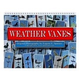 Weather Vanes Wall Calendar