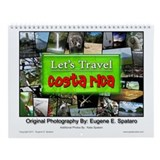 Let's Travel Costa Rica Wall Calendar