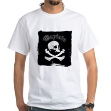 Captain - Skull & Bones Shirt