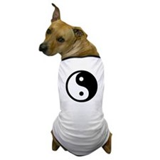 Unique Yin yang Dog T-Shirt