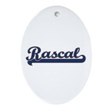 Rascal Sports Oval Ornament