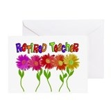 Retired Teacher 2 Greeting Card