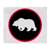 Grizzly Globe Throw Blanket