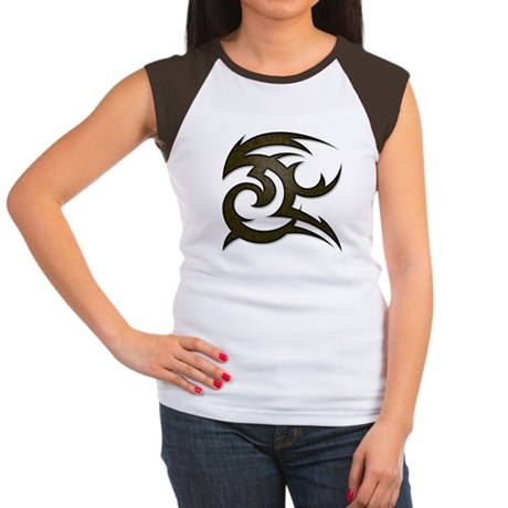 Tribal Gust Women's Cap Sleeve T-Shirt