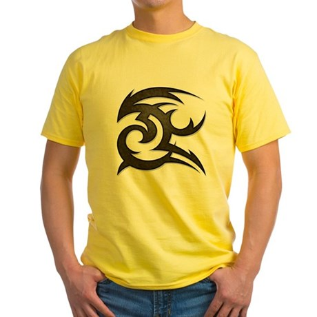 Tribal Gust Yellow T-Shirt