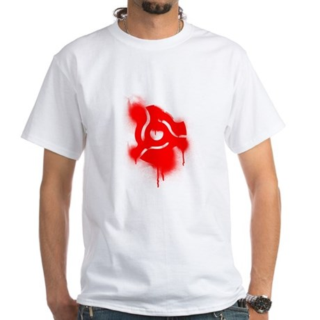 45 Graffiti White T-Shirt