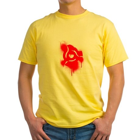45 Graffiti Yellow T-Shirt