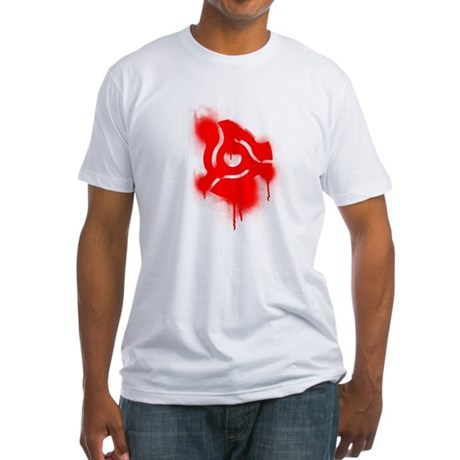 45 Graffiti Fitted T-Shirt
