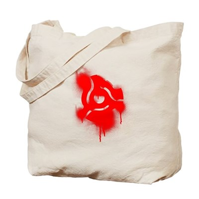 45 Graffiti Tote Bag