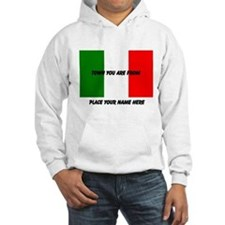 Personalized Flag Hoodie