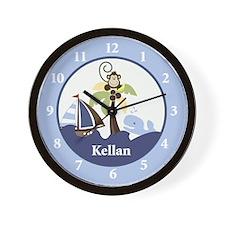 Ahoy Mate Monkey Wall Clock - Kellen